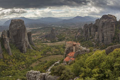 Meteora monasteries Royalty Free Stock Image