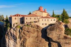 Meteora Monasteries Complex, Greece Stock Photos