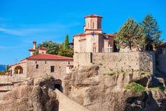 Meteora Monasteries Complex, Greece Stock Images