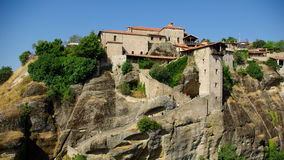 Meteora monasteries, Greece Stock Photo