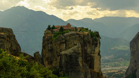 Meteora monasteries, Greece Royalty Free Stock Photo