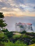 Meteora monasteries. Greece Stock Images