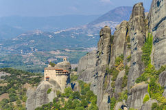 Meteora Monasteries, Greece Royalty Free Stock Images