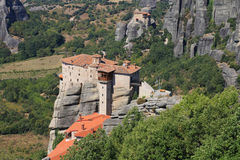 Meteora monasteries Royalty Free Stock Photo