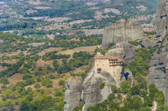 Meteora Monasteries, Greece Stock Images