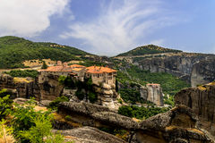 Meteora Monasteries, Greece. Stock Photo