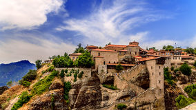 Meteora Monasteries, Greece. Royalty Free Stock Image