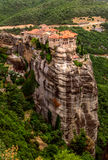 Meteora Monasteries, Greece. Royalty Free Stock Photo