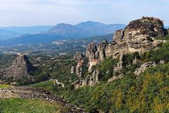 Meteora Monasteries, Greece Royalty Free Stock Photos