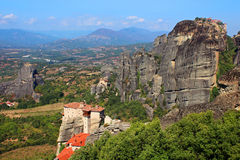 Meteora Monasteries Stock Image