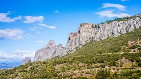 Meteora Monasteries View In Greece Royalty Free Stock Photo