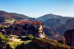 Meteora monasteries Royalty Free Stock Photo