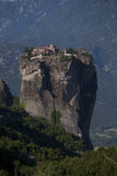 Meteora monastery. Aghia Triada Monastery in Meteora, Northern Greece Stock Photography