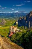 Meteora Monastery Stock Photography