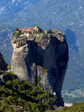 Meteora monastery royalty free stock photos