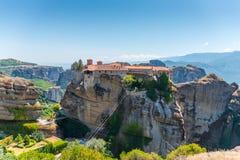 Meteora Monastery Royalty Free Stock Photos