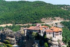 Meteora Monastery Stock Photo