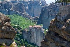 Meteora Monastery Royalty Free Stock Image