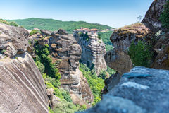 Meteora Monastery Royalty Free Stock Photo