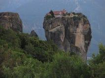 Meteora monastery complex Stock Photo