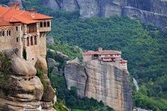 Meteora Monastery Grecja Zdjęcie Stock