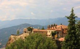 Meteora Monastery in Greece Royalty Free Stock Photos
