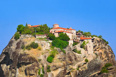 Meteora monastery in Greece Royalty Free Stock Photography