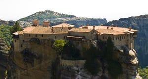 Meteora monastery, Greece Royalty Free Stock Images