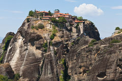 The Meteora monastery. Greece. The Meteora monastery. Europe, Greece Royalty Free Stock Images
