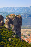 Meteora monastery in Greece Stock Image