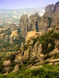 Meteora monastery - Greece Royalty Free Stock Photography
