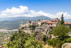 Meteora Monastery, Greece Stock Photo