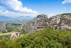 Meteora Monastery, Greece Stock Image