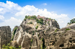 Meteora Monastery, Greece Royalty Free Stock Photo