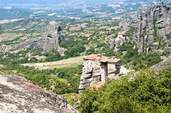 Meteora Monastery, Greece Royalty Free Stock Photography
