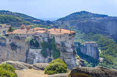 Meteora monastery, Greece Royalty Free Stock Image