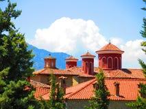 Meteora monastery in Greece Stock Images