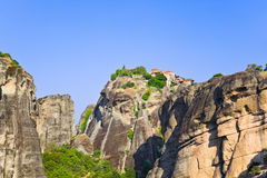 Meteora monastery in Greece Stock Photography