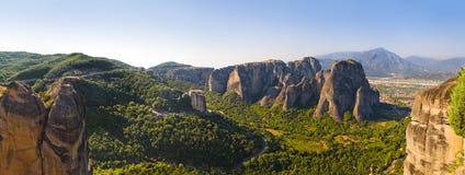 Meteora monastery in Greece Royalty Free Stock Photo