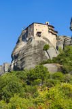 Meteora monastery, Greece, UNESCO Royalty Free Stock Images