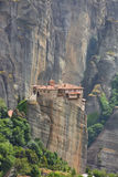 Meteora monastery royalty free stock photography