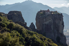 Meteora, Monastery of The Holy Trinity Stock Photo