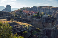 Meteora, Monastery of The Holy Trinity Stock Photos