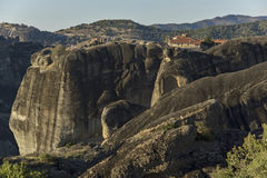 Meteora, Monastery of The Holy Trinity Stock Images