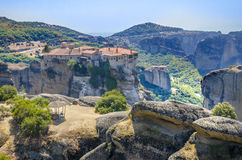 Meteora Monastery , landmark in Greece Royalty Free Stock Photos