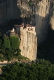Old meteora monastery on rock Stock Image