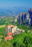 Meteora monastery - Rousanou Royalty Free Stock Image