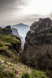 Meteora monastery Stock Photos