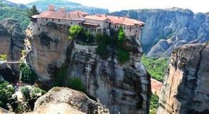 Meteora montain Royalty Free Stock Image