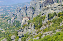 Meteora mountain, Greece Royalty Free Stock Photography